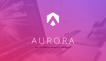 Aurora PPT template