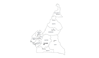 Cameroon map PPT