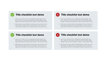 Checklist free Keynote template 6
