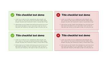 Checklist free Keynote template 7