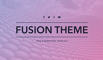"Free PowerPoint template ""Fusion"""