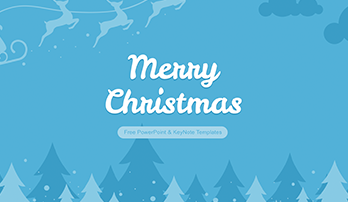 """Merry Christmas"" free ppt template"