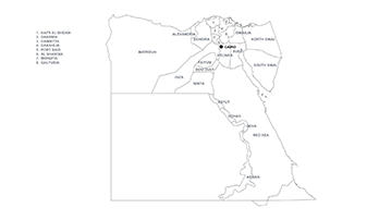 Egypt PPT map