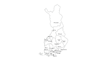Republic of Finland PPT map