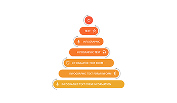 Marketing pyramid 7 step PPT