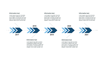 PowerPoint Timeline Examples 1