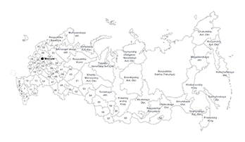 Russia PPT map