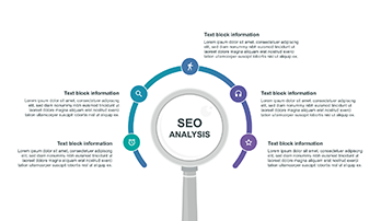 SEO analysis infographic PPT
