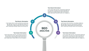 SEO analysis infographic PPT step 2