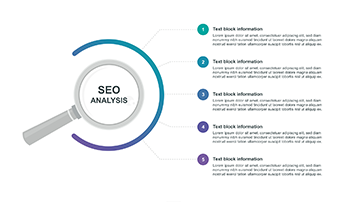 SEO analysis infographic PPT step 8