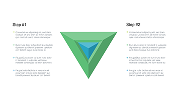 Triangle free Keynote top template