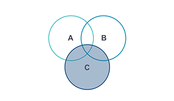 Venn Diagram Keynote template 3