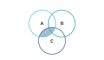 Venn Diagram Keynote template 5