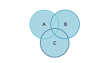 Venn Diagram Keynote template 8