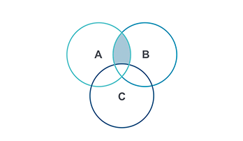 Venn Diagram Keynote template 9