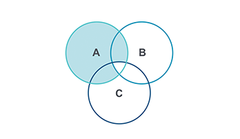 Venn Diagram PPT type 10