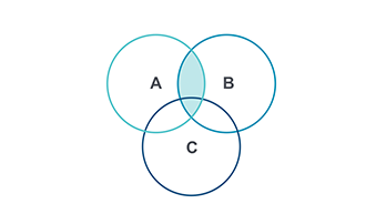 Venn Diagram PPT type 4