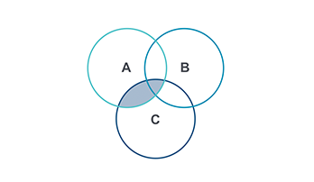 Venn Diagram PPT type 5
