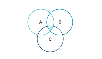 Venn Diagram PPT type 7