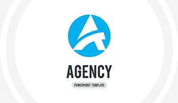 Agency free PowerPoint template