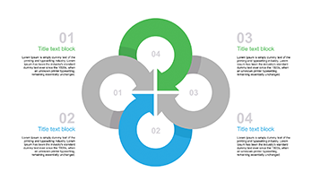 4 circle template for Keynote