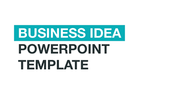 """Business Idea"" PowerPoint template"