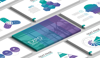 """Expo"" free Keynote template"
