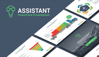 """Assistant"" PowerPoint template"