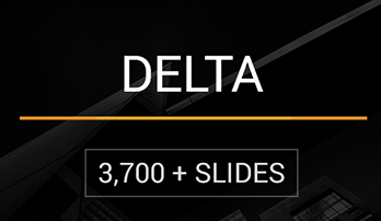 """Delta"" PowerPoint template"
