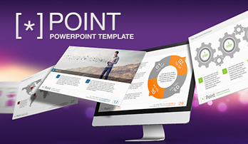 """Point"" PowerPoint template"