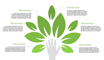 Eco hand for PowerPoint