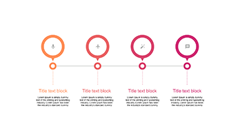 Horizontal Timeline for PowerPoint