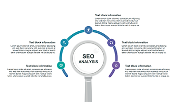 SEO analysis infographic Keynote