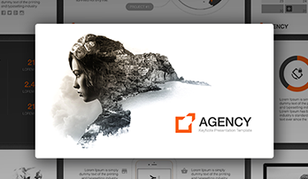 """Agency"" Keynote template"