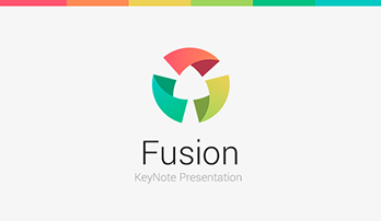 """Fusion"" Keynote template"