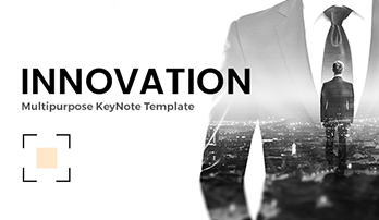 """Innovation"" Keynote template"