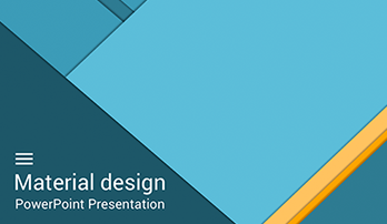 """Material"" PowerPoint template"