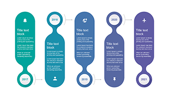 Free PowerPoint timeline template