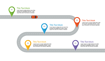 roadmap slide template free free download now