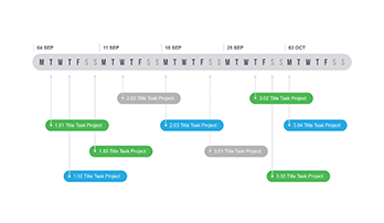 Timeline for Power Point