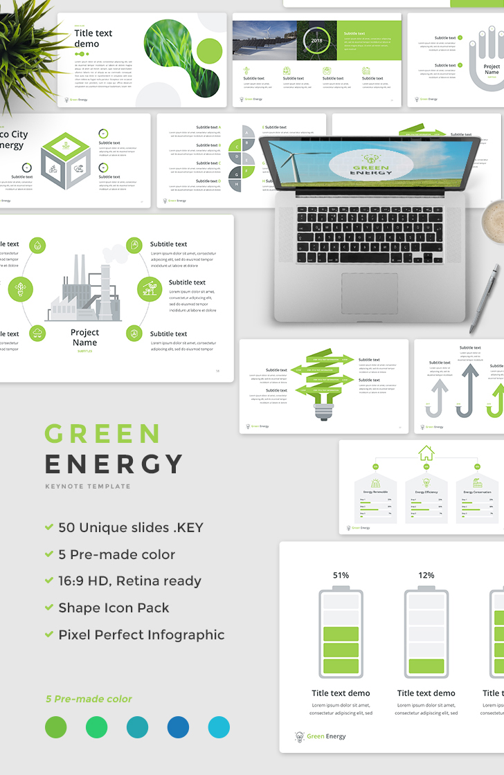 Green-Energy-Keynote-Template