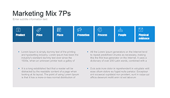 7 p of Marketing Mix