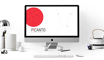 Picanto Keynote template free download