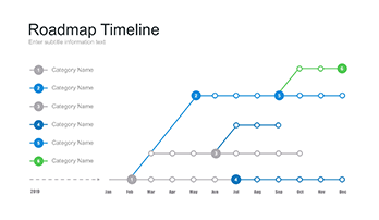 A Large Collection Of Timeline For Keynote Free Download Now - Roadmap timeline template