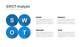 Free editable SWOT analysis template