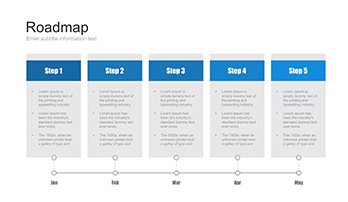 Free Roadmap for Google Slides