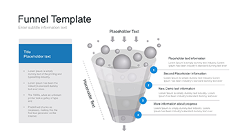 Funnel shape for PowerPoint