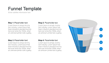 PowerPoint funnel diagram