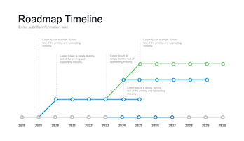 A Large Collection Of Timeline For Keynote Free Download Now - Free roadmap timeline template