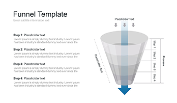 Sales funnel PPT template